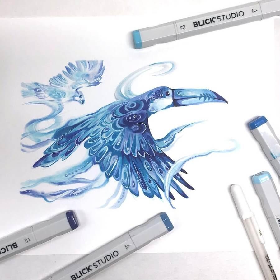 01-Midnight-blue-Toucan-Katy-Lipscomb-www-designstack-co
