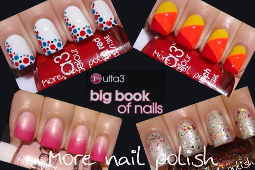 Ulta3 Big Book Of Nails Nail Art Tool Kit More Nail Polish