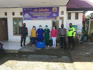 Vaksin C-19 Mulai Disalurkan ke Puskesmas di Toraja Utara