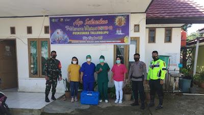 Vaksin C-19 Mulai Disalurkan ke Puskesmas di Toraja Utara Polisi Kawal Ketat