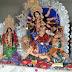 अलीगंज के दरखा गांव में वैशाखी दुर्गा की प्रतिमा स्थापित, पट खुलेते ही दर्शन को जुटे भक्त