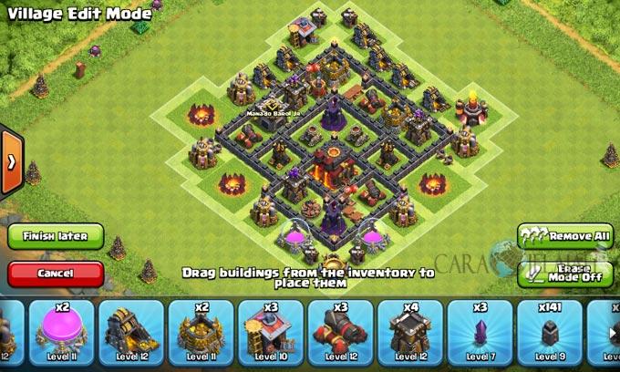 pertahanan terbaik untuk base war th 6 di clash of clans 17