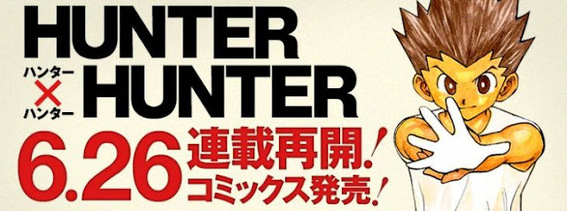 Manga de Hunter X Hunter regresa el 26 de junio