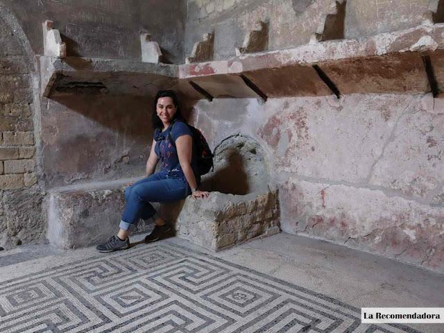 Baños femeninos de Herculano