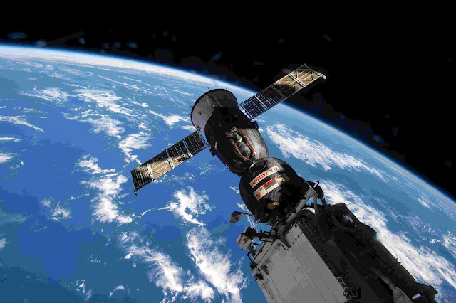 Space Station Crew to Relocate Soyuz, Make Room for New Crewmates