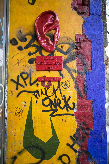 Murales a Kunsthaus tacheles-Berlino