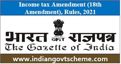 Income tax Amendment
