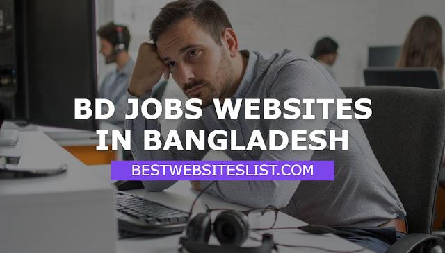 BD Jobs Websites In Bangladesh