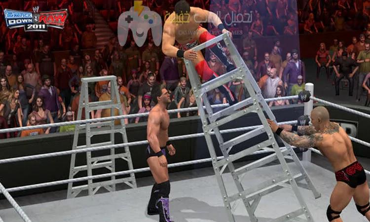 تحميل لعبة WWE Impact 2011 بحجم صغير