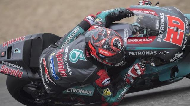 Fabio Quartararo Tercepat pada Tes MotoGP di Jerez
