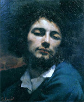 Romanticist artist Gustave Courbet's Self Portrait, also known as Man with Pipe, created in 1849.