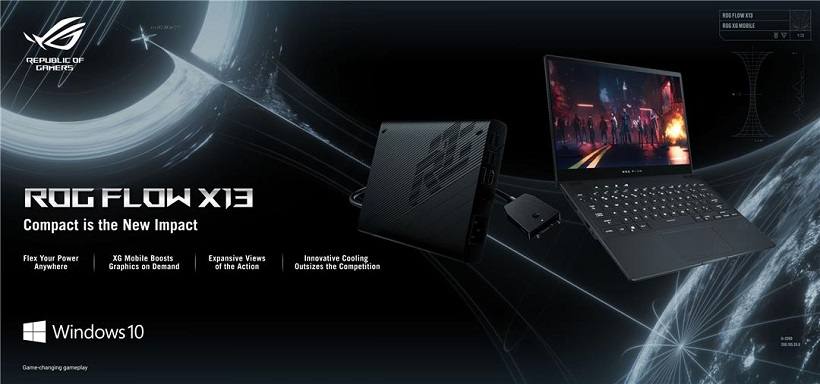 ROG PH launches ROG Flow X13 Convertible Gaming Laptop, ROG XG Mobile External GPU, arriving February 2021