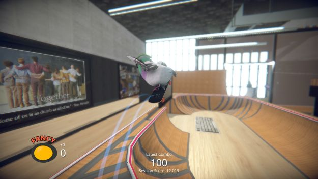Tony Hawk is going on annual leave, soon to be replaced by Skatebird