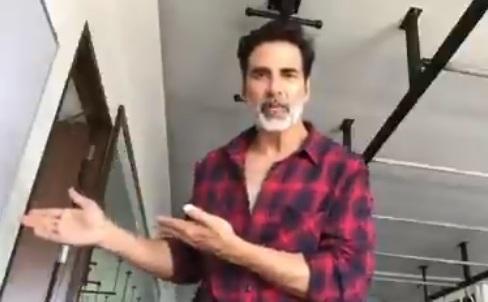 कोरोना वायरस को सीरियसली न लेने वालों पर भड़के अक्षय कुमार, वीडियो के माध्यम कही यह बात
