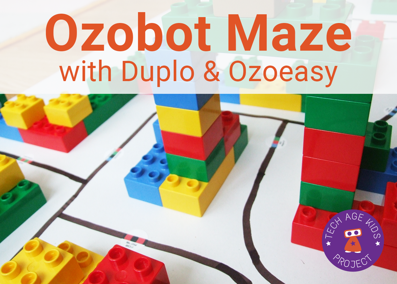 image about Ozobot Printable identify Ozobot Maze with Code Stickers and Establishing Blocks Tech