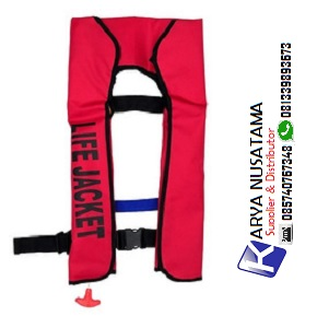 Jual Life Jacket Inflatable Automatic 150N Nylon di Pekanbaru