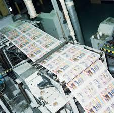 Comics Being Printed