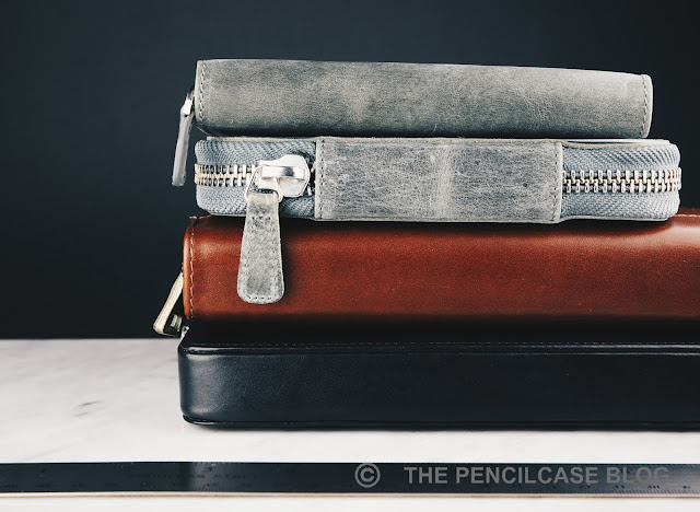 REVIEW: GALEN LEATHER ZIPPERED 3 & 10 PEN CASES