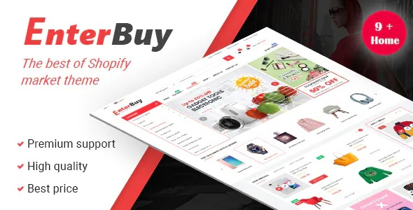 Best Multipurpose Premium Shopify Theme