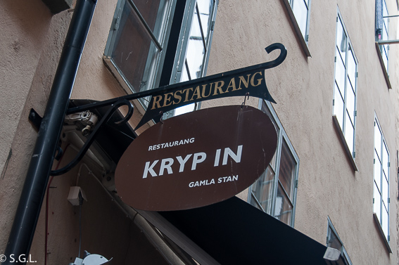 Restaurante Kryp In en Estocolmo