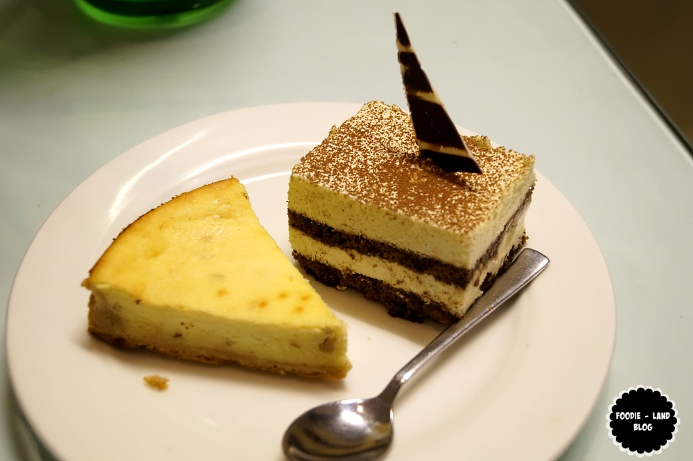Tiramisu & Ricotta Cheese Cake @Glimpses of Italy @ Sphyre | The Gateway Hotel-Residency Road | Bangalore