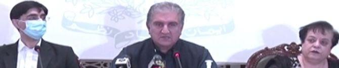 Qureshi Unveils Dossier On India's War Crimes In Held Kashmir: Pak Media