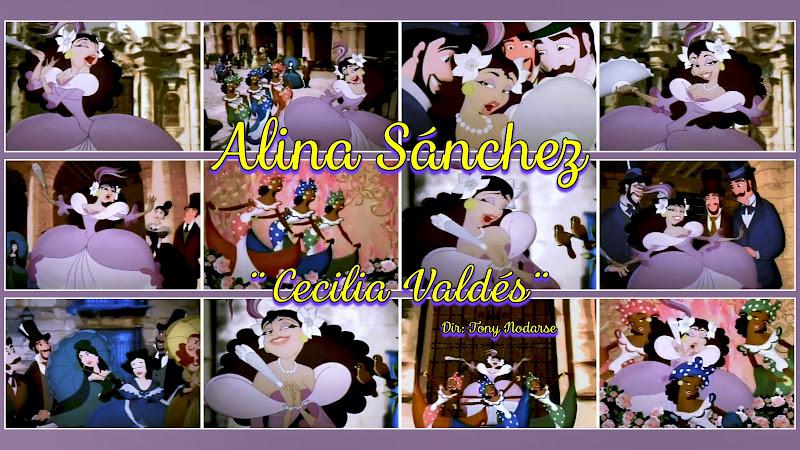 Alina Sánchez - ¨Cecilia Valdés¨ - Videoclip / Dibujo Animado - Director: Tony Nodarse. Portal Del Vídeo Clip Cubano