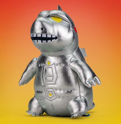 Kidrobot Godzilla 65th Birthday Celebration Capsule Collection 8 inch Phunny Plush Mechagodzilla