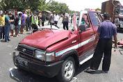 Kecelakaan Kijang Vs Truk di Jalur Pantura Tuban, 6 Tewas