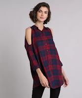 Aposte nessa camisa para um look de arrasar! Composição: 100% Viscose Modelo Veste