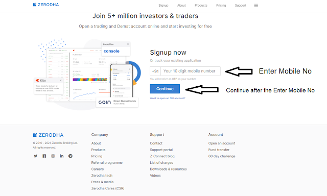 How To Open Zerodha Account opening process