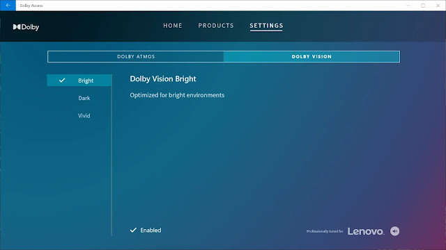 Dolby Atmos optimizes the type of sound being played