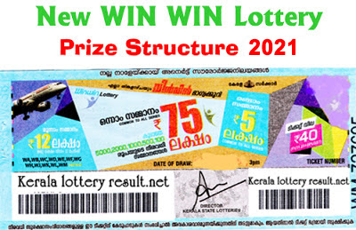 Win Win Lottery Prize Structure 2021
