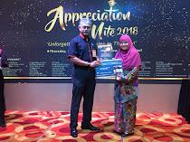 Penghargaan Menara KL : Majlis Guru Kaunseling Kuala Lumpur Top 20