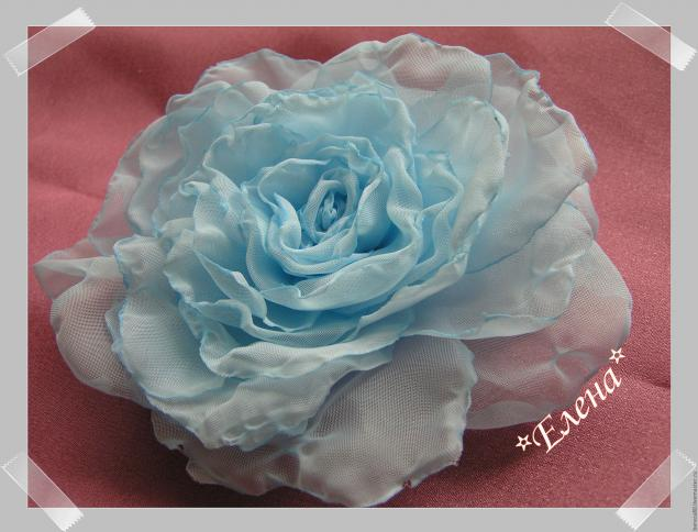 DIY Fabric Roses Tutorial