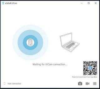 برنامج, مميز, لفتح, وتشغيل, كاميرا, الايفون, على, الكمبيوتر, باستخدام, الواى, فاى, iVCam