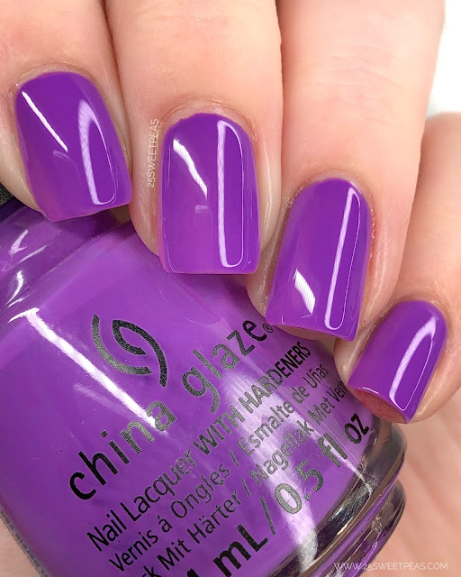 China Glaze Funky Beat 25 Sweetpeas