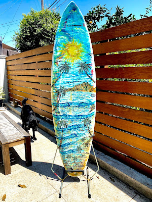 Custom surfboards & art by Paul Carter