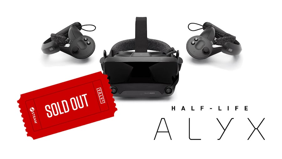 half-life alyx valve index out of stock valve index stock