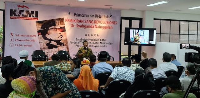 HRS Kritik Syahganda 'Kiri Radikal', Aktivis KAMI: Kiri dan Kanan Asal Berguna untuk Bangsa