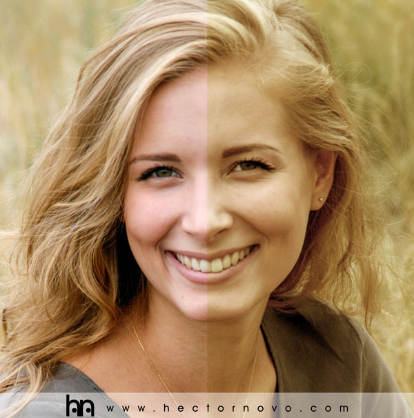 """Filtro fotográfico """"Rosa"""" con Photoshop"""