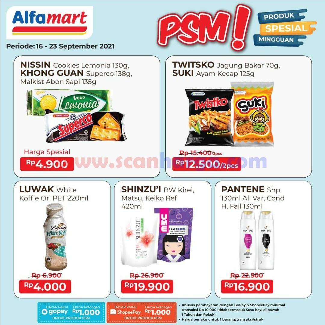 Katalog Alfamart Sehari Periode Promo 20 - 23 September 2021