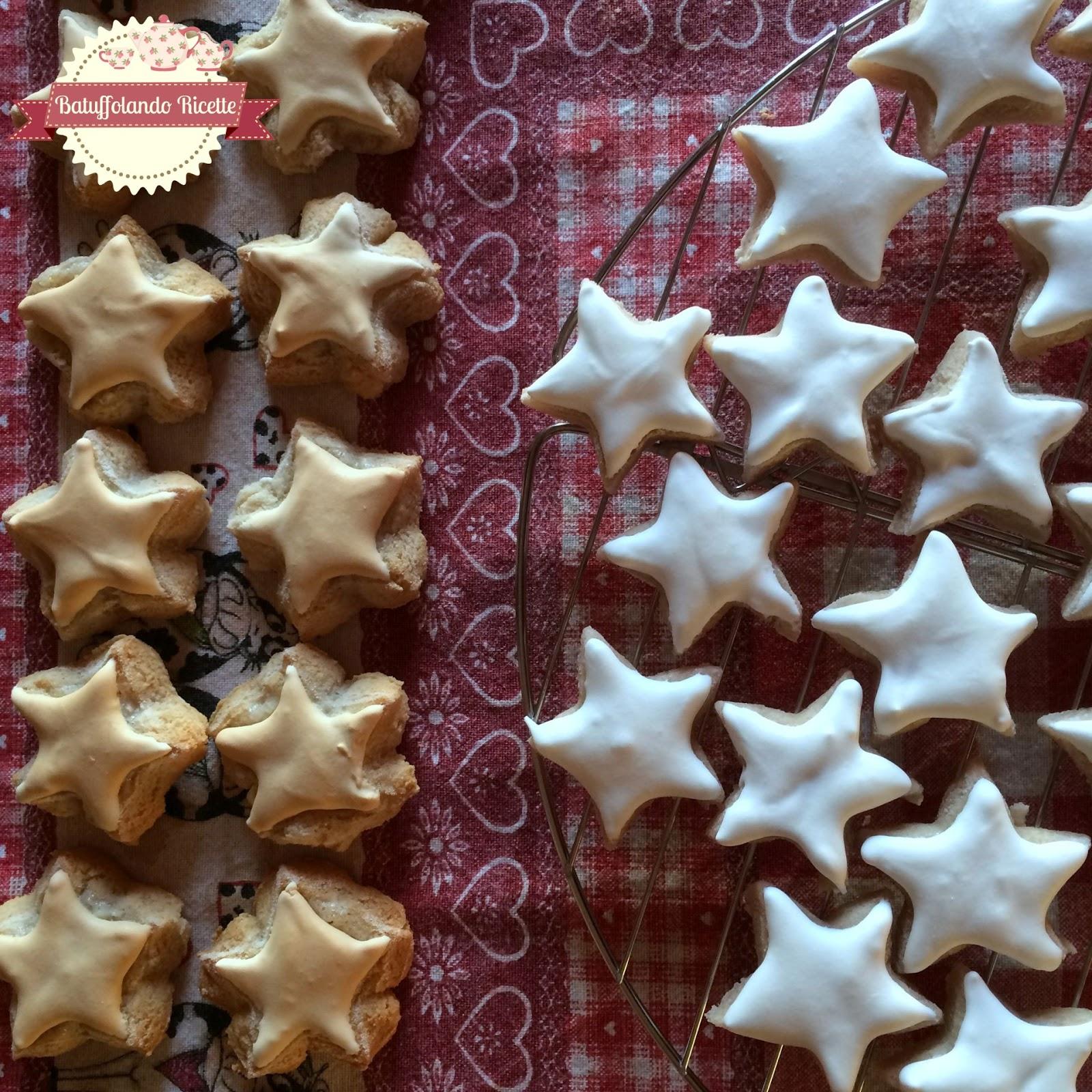 Biscotti Di Natale Zimtsterne.Batuffolando Ricette Zimtsterne Biscotti Svizzeri Natalizi