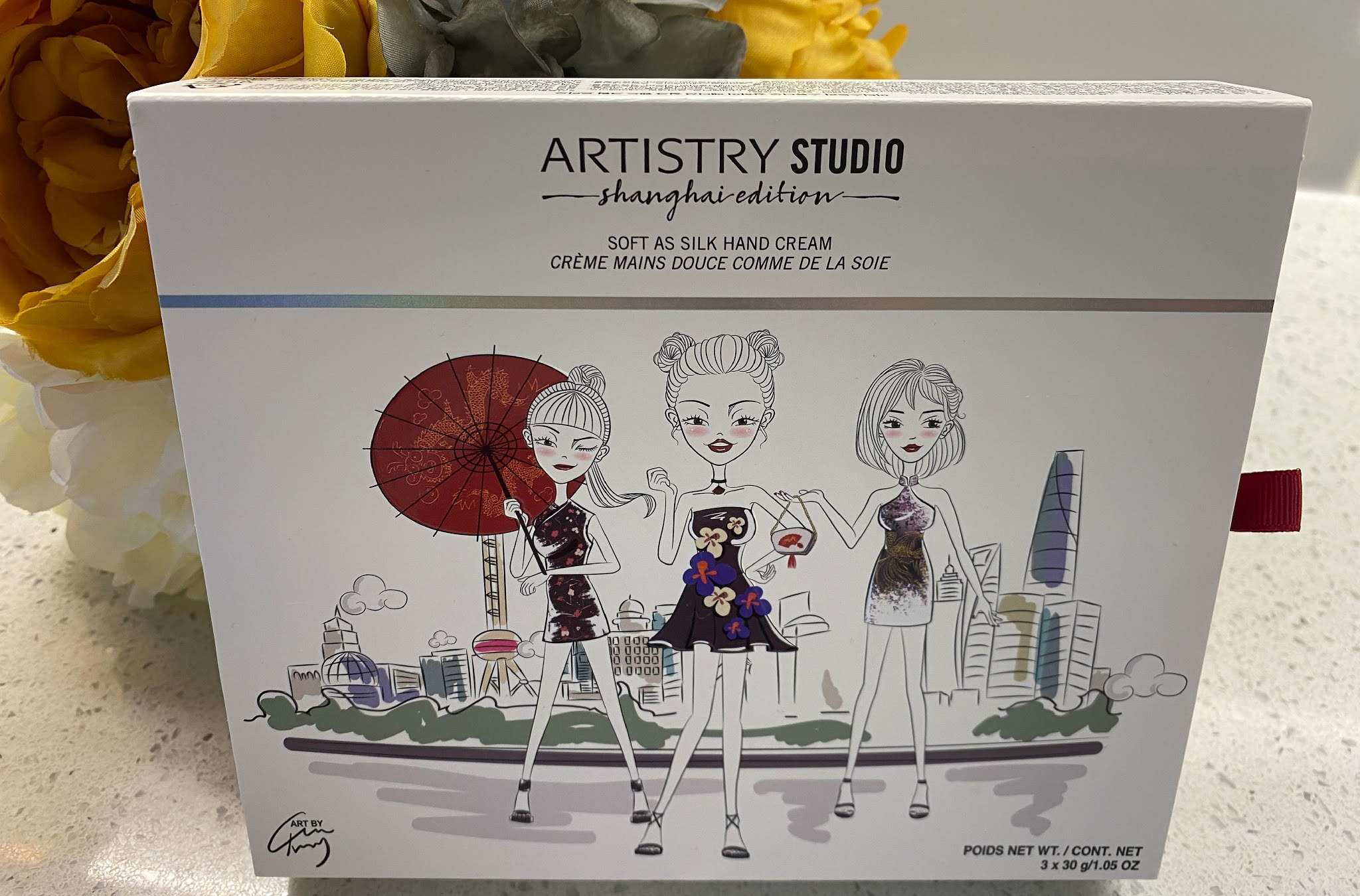 Artistry Studio Soft as Silk Hand Cream Trio.