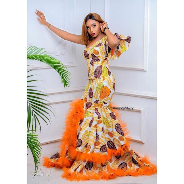 Ankara Lace Asoebi Styles for creative Ladies 2020
