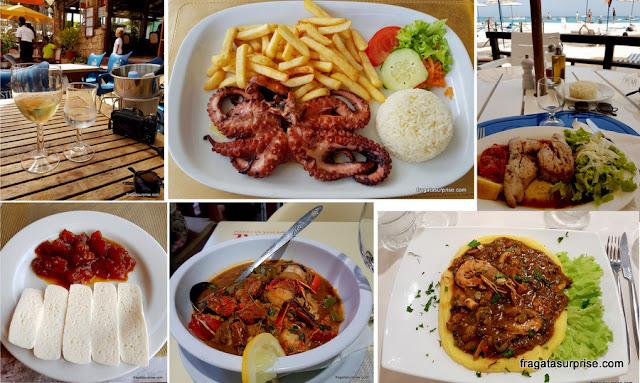 Pratos típicos de Cabo Verde