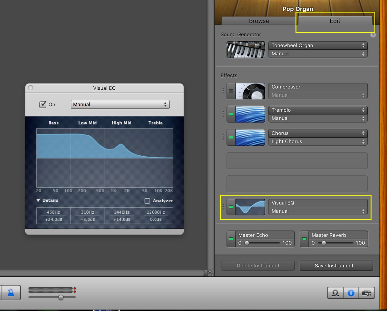 Free Ideas: Increasing MIDI Volume in GarageBand