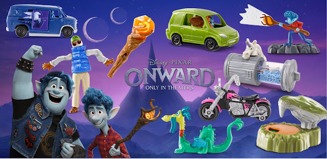 Onward McDonald's Happy Meal Toys