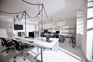 Thiết kế văn phòng làm việc đơn giản , độc đáo
