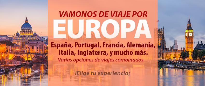 Viajes por Europa en circuito y combinados 2021-2022